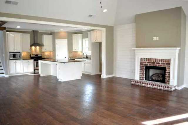 Enjoy entertaining with this very open floor plan kitchen - Open floor plan kitchen living room dining room ...