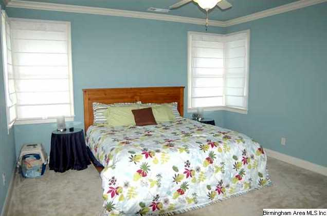 Large Master Bedroom Has 2 Sets Of Corner Windows And Will
