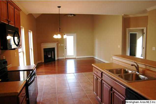 parties are fun in this very open floor plan and easy to
