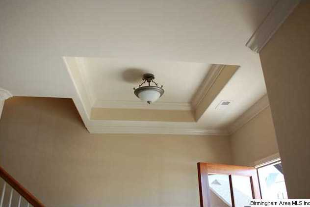 Foyer Tray Ceiling : Tray ceiling in front entryway