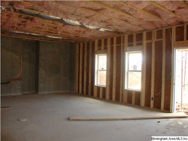 Unfinished daylight basement gives you plenty of room for for Daylight basement pictures