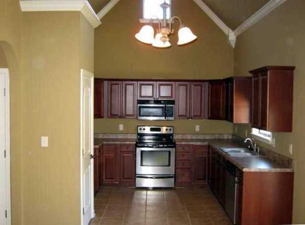 Kitchen Cabinets Vaulted Ceiling you will love to cook your favorite meals in this large kitchen