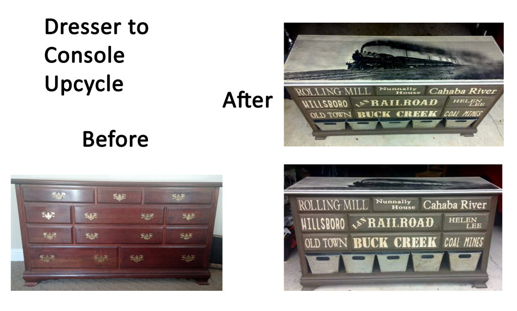 dresser before and after composite