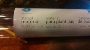 dresser stencil material