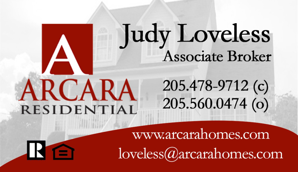 judy loveless business card