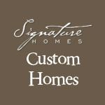 signature logo with custom homes our version